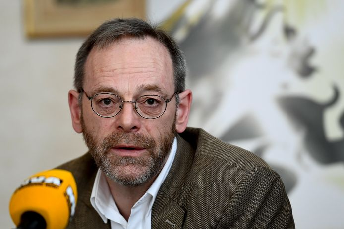 Peter De Roover, chef de groupe N-VA à la Chambre.