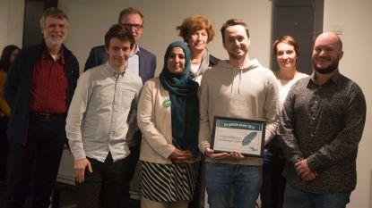 Buddywerking voor vluchtelingen krijgt Groene Pluim
