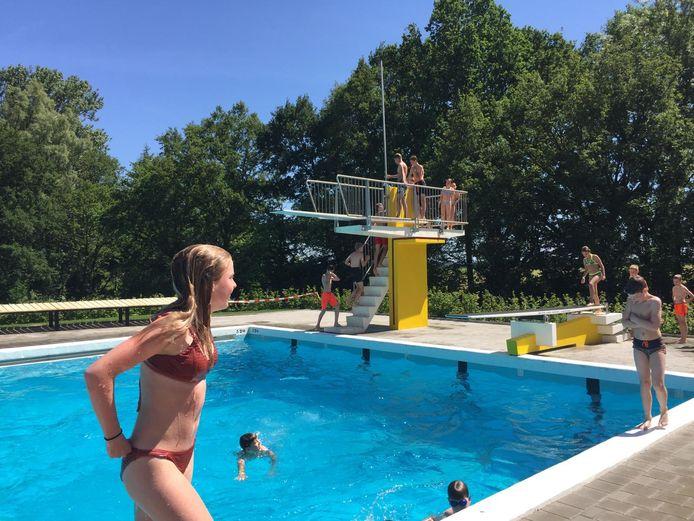 Het Ootmarsumse openluchtzwembad De Kuiperberg