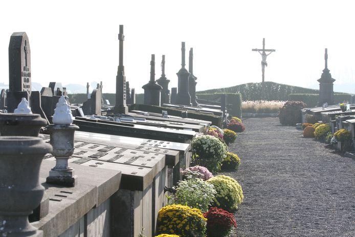 De begraafplaats van Middelkerke.