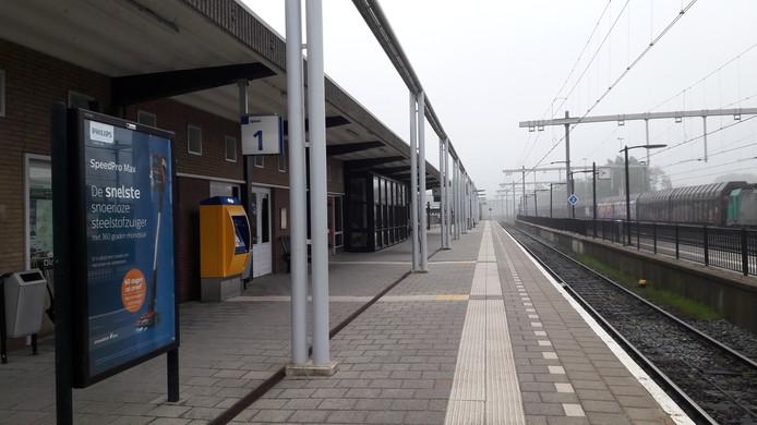 Het station in Oldenzaal.