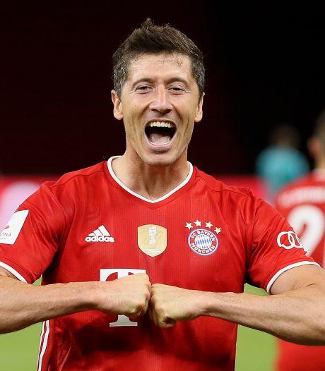 Lewandowski élu Joueur de l'année 2020