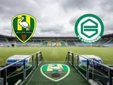 ADO Den Haag snakt tegen FC Groningen naar zege