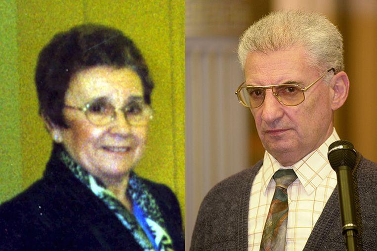 Slachtoffer Diana Flement en dader Julien Staelens.