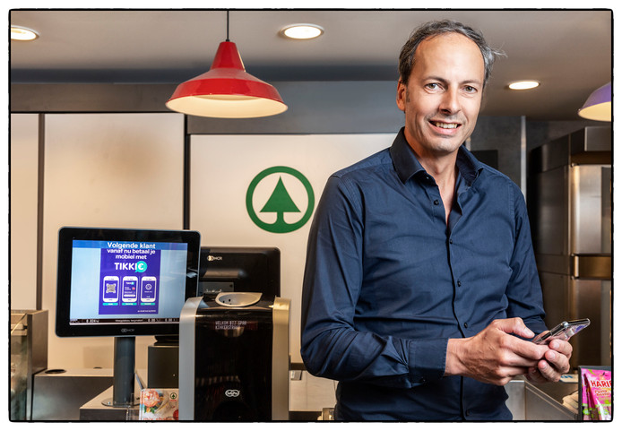 Freek de Steenwinkel ziet steeds meer mogelijkheden voor zijn app. ,,Ook voor collectanten is het handig.''
