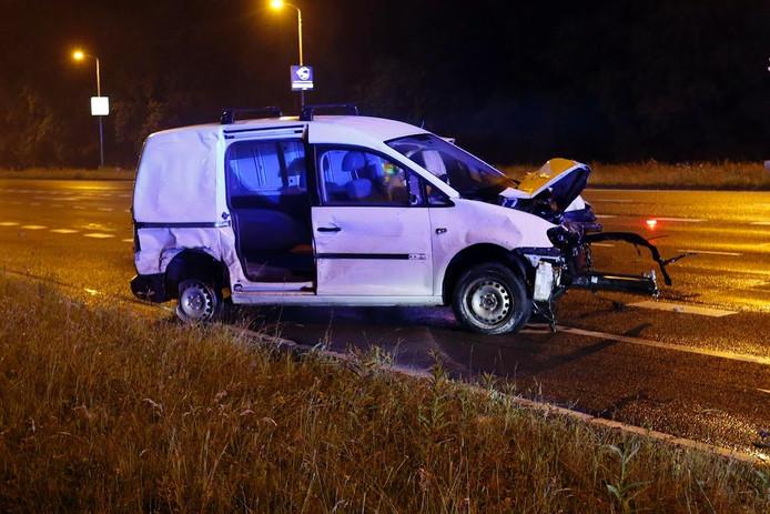 Flinke schade aan de auto na het ongeval