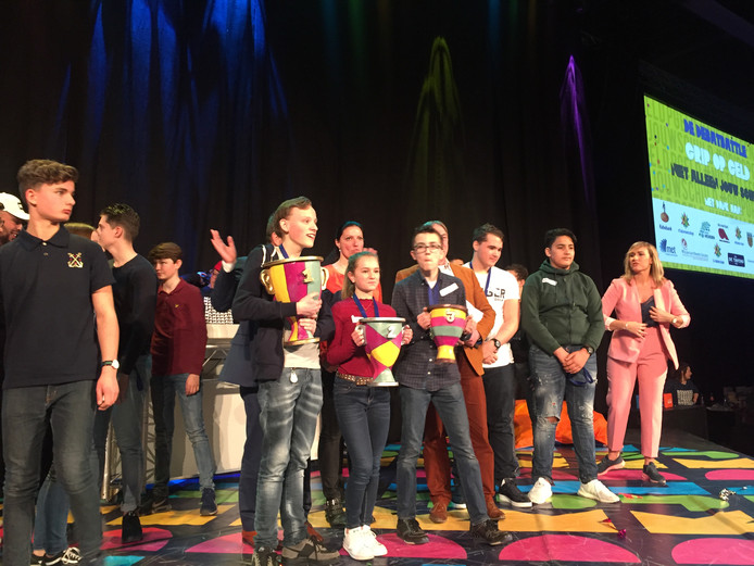 Tycho van Daelen (15) debatteert het best van alle derdeklassers uit de Langstraat.