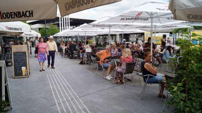 4.800 vierkante meter Roeselaarse terrasjes gretig in gebruik genomen