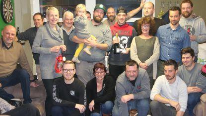 Nieuwkomer Jordy Holluyn meteen kampioen bij dartsclub 't Genieterke