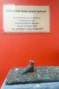 Herdenkingsbeeld voor Joodse kinderen uit Utrecht gestolen: 'Dit is een trap op ieder Joods hart'