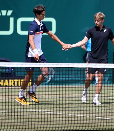 """Herbert, adversaire de Goffin: """"Quand je vois jouer David, le tennis paraît très simple"""""""