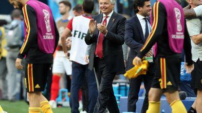 """Minister Reynders na kritiek op zijn vele WK-bezoekjes: """"Als de Belgen zo ver geraken, moeten we erbij zijn"""""""
