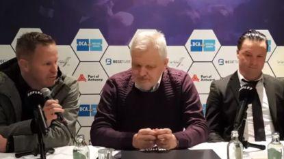 Vrancken en Vreven in de clinch na topper: KVM-coach stapt op tijdens persconferentie, collega-trainer is daar allerminst mee opgezet