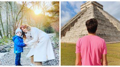 SHOWBITS. Wandelen met Belle en welke BV zit in Mexico?