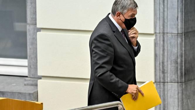 Jan Jambon legt Septemberverklaring af en kondigt relanceplan van 4,3 miljard euro aan