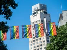 """Veel regenboogvlaggen maar minder bezoekers: """"Ondanks corona blijft de gedachte achter de Antwerp Pride leven"""""""