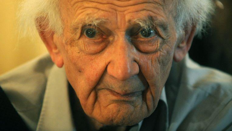 Bauman werd internationaal bekend door zijn analyse van en kritiek op het moderne leven en de cultuur. Beeld AFP