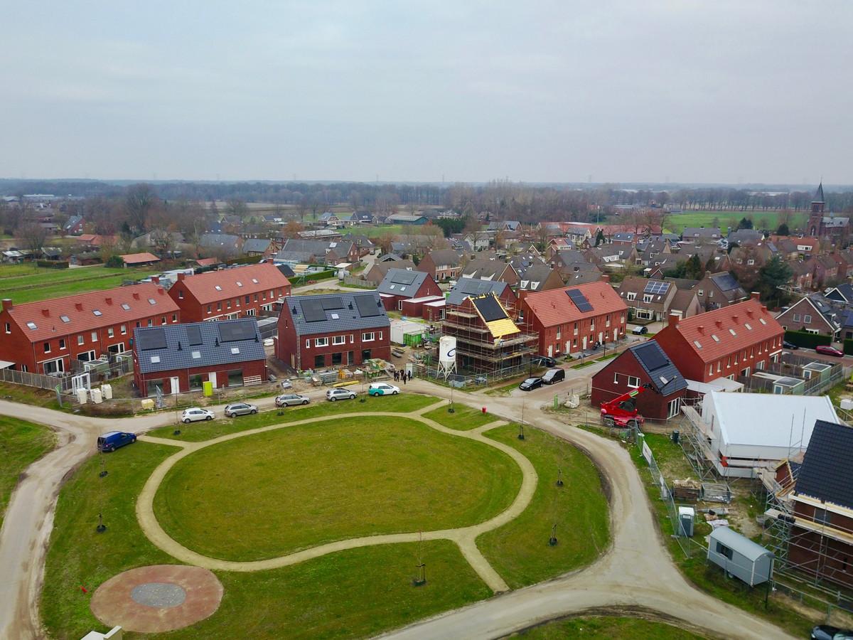 Het nieuwe wijkje van Biest-Houtakker.
