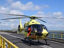 Ernstig ongeluk met wielrenners op Zeelandbrug, brug weer open