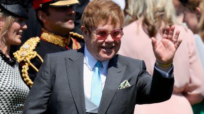 Deze 3 nummers zong Elton John op de receptie van Harry en Meghan