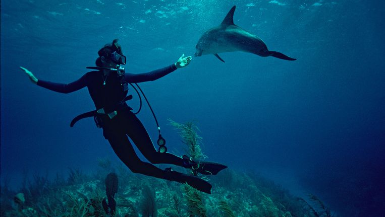 Sylvia Earle in de documentaire Mission Blue. Beeld Netflix