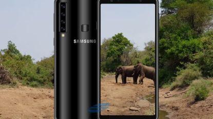 """Nieuwe Samsung Galaxy A9 heeft vijf camera's"""