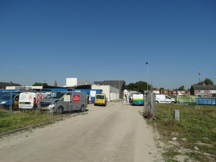 Gezondheidscentrum Axel in aanbouw.