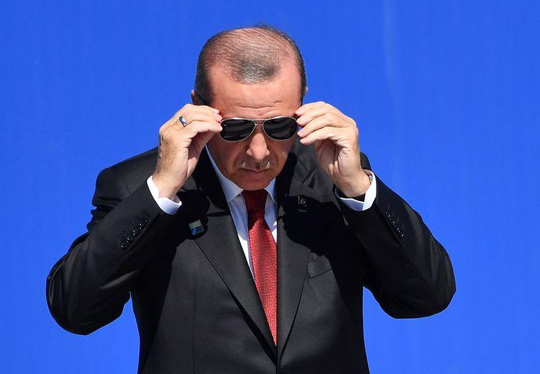 Tayip Erdogan Beeld AP