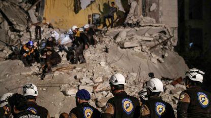 Bijna 400 Witte Helmen nog altijd vast in zuiden van Syrië