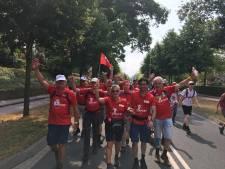 160 kilometer in rolstoel van Breda naar Nijmegen: 'Volgend jaar doen we écht mee'