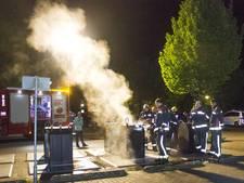 Brand in ondergrondse container in Eerbeek