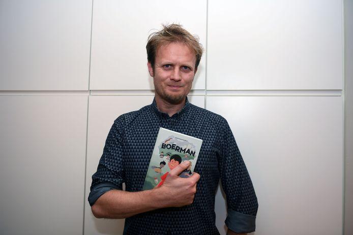 'Boerman' is eerste kinderboek van thrillerauteur Dominique Biebau (43)