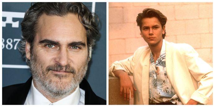 Joaquin Phoenix et son frère River.