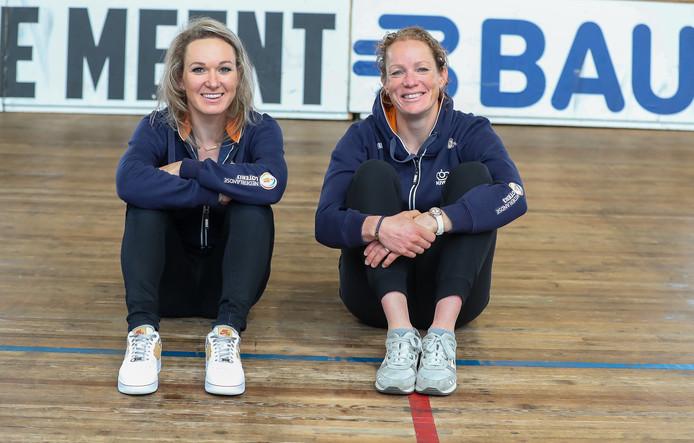 Amy Pieters en Kirsten Wild.