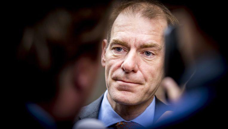 Staatssecretaris  van Financiën Menno Snel(D66)  Beeld ANP