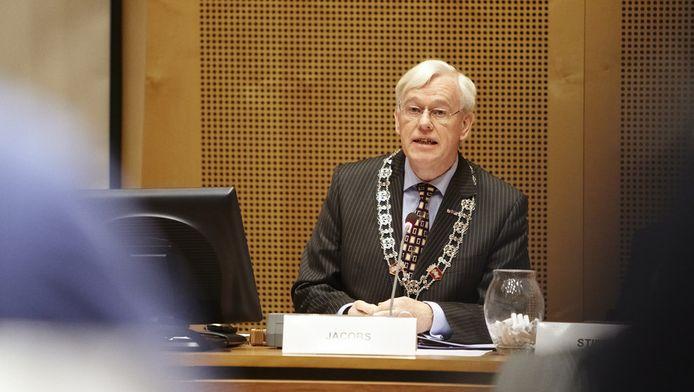 Burgemeester Jacobs van Helmond in januari vorig jaar.
