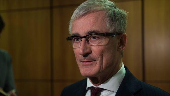 Vlaams minister-president Bourgeois.