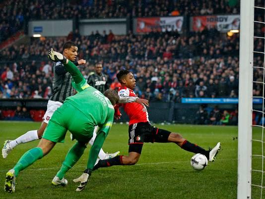 De laatste eredivisiegoal van Jean-Paul Boëtius: op 18 januari 2015 tegen FC Twente.