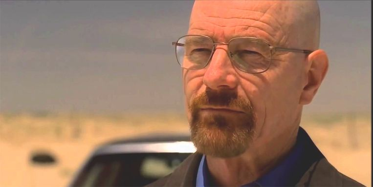 Walter White in 'Breaking Bad'