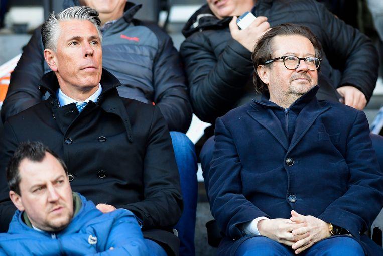 Michael Verschueren naast Marc Coucke.