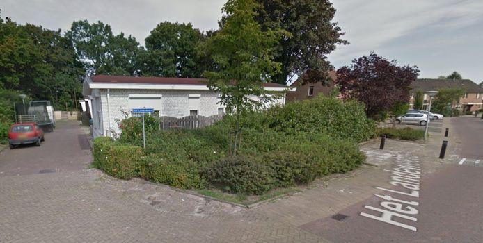 Het bewuste woonwagenkamp in Holten.