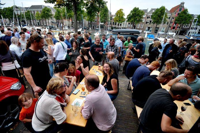 Een van de eerdere edities van Bierfestival Schuim