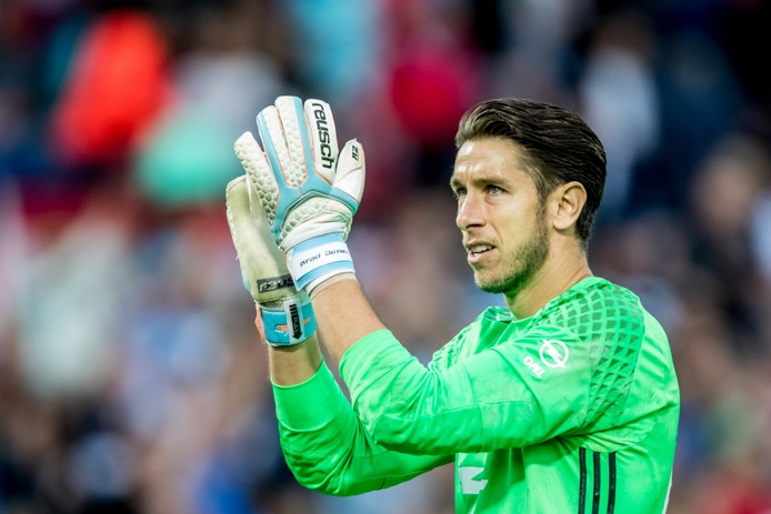 Feyenoord-keeper Brad Jones