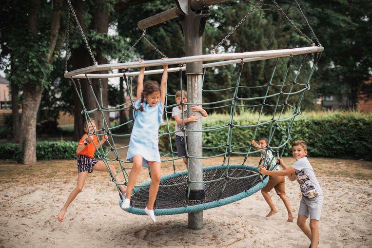 Deze week ging de speeltuin aan De Buiting al open (foto).