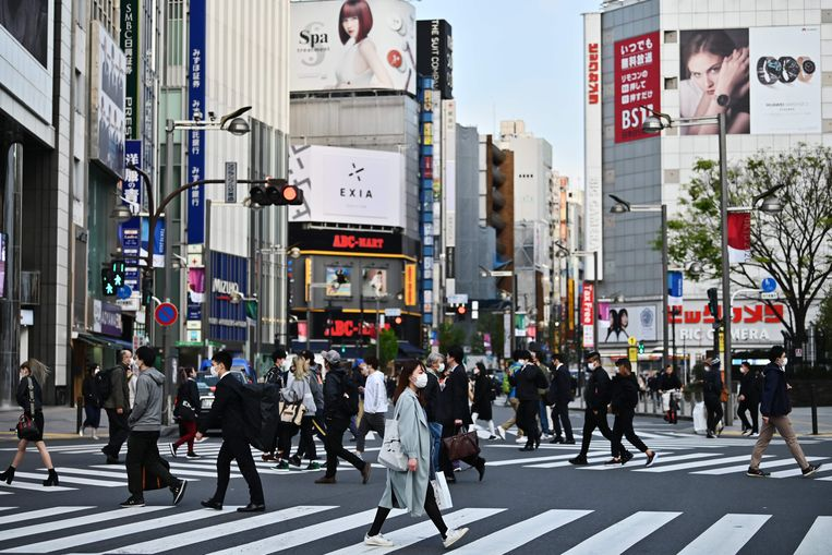 Tokio Beeld AFP