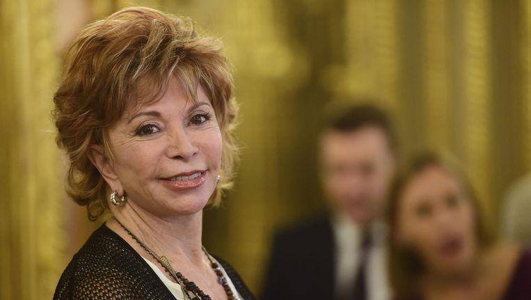 Isabel Allende, auteur van De winter voorbij Beeld afp