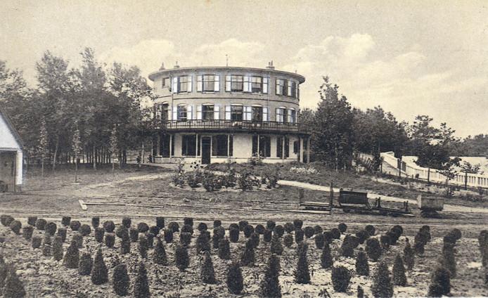Het Ronde huis in Nunspeet.