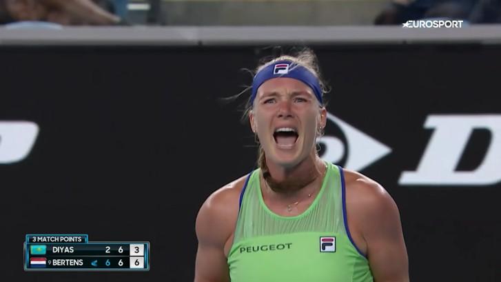 Kiki Bertens door naar de vierde ronde Australian Open