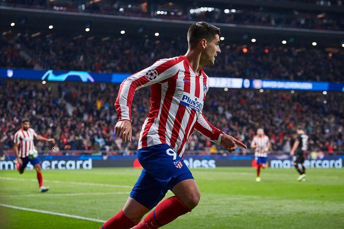 Alvaro Morato tekende voor de 1-0.