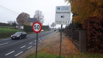 Flitspaal registreert 561 snelheidsduivels op vijf dagen